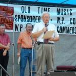 2007 Festival - Mayor Joe Paul Evans