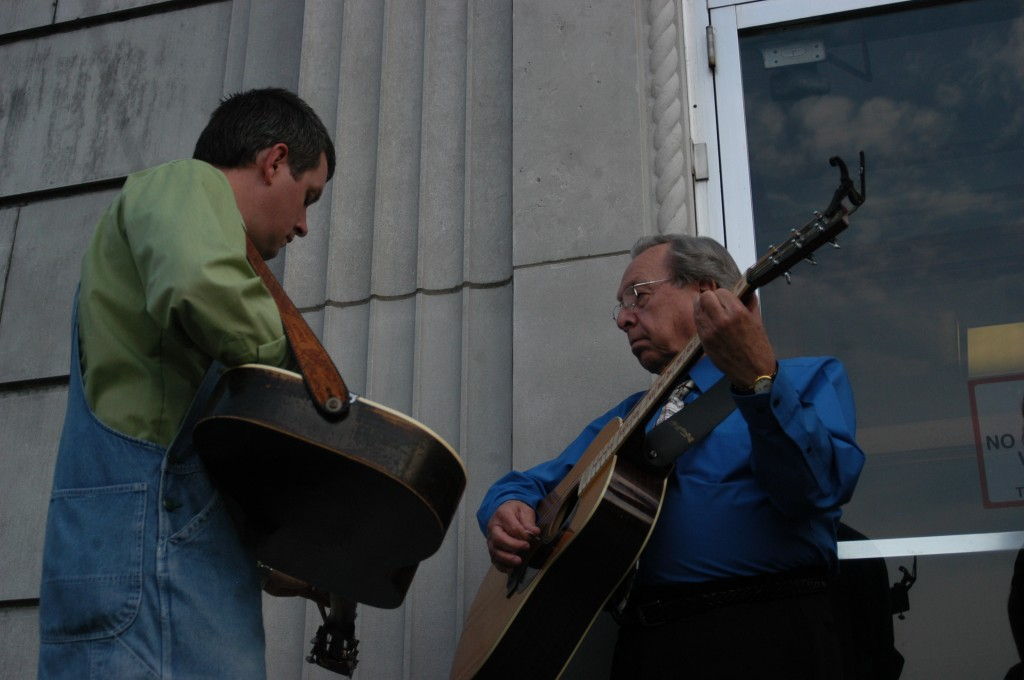 2007 Festival - Mike Webb and Charlie Collins (2)