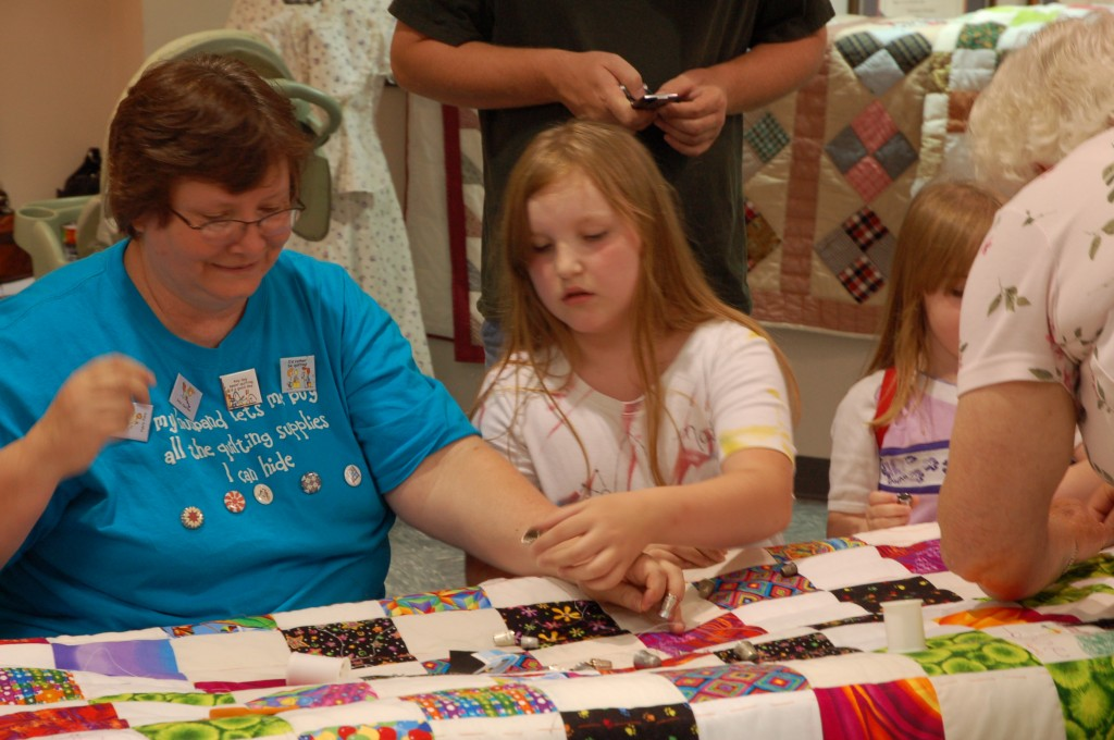 2009 Festival Quilting Hands-On Area (5)