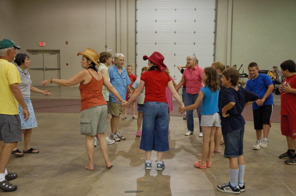 2009 Festival - Square Dance Lessons (2)