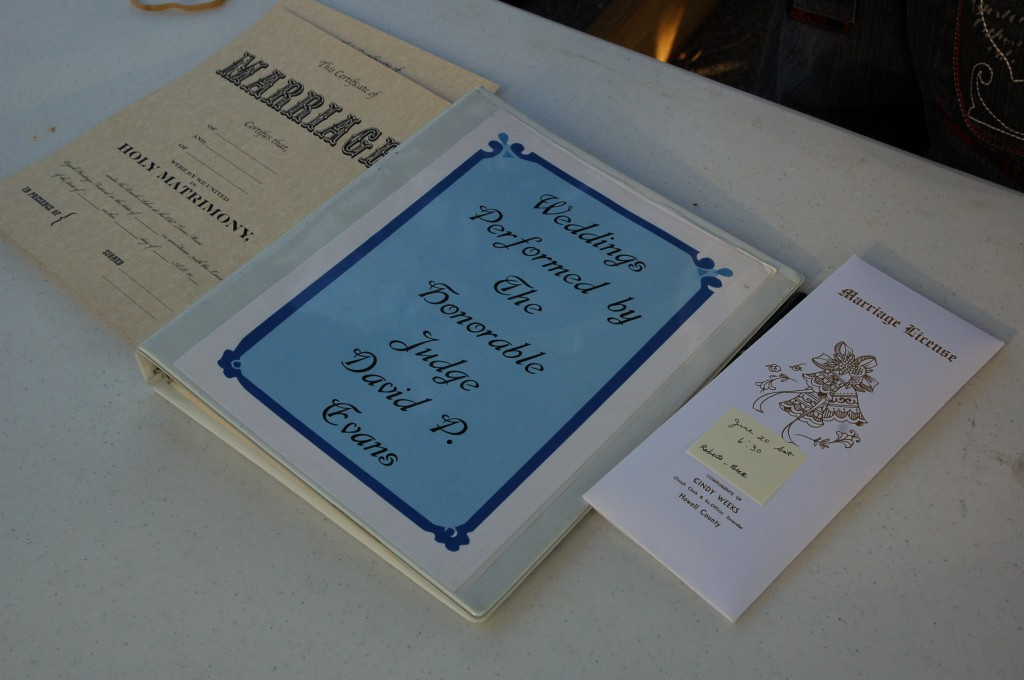 2009 Festival - Wedding at the Brush Arbor (2)