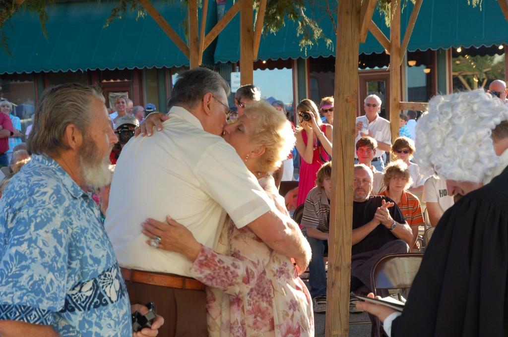 2009 Festival - Wedding in the Brush Arbor with Hon. David P. Evans (13)