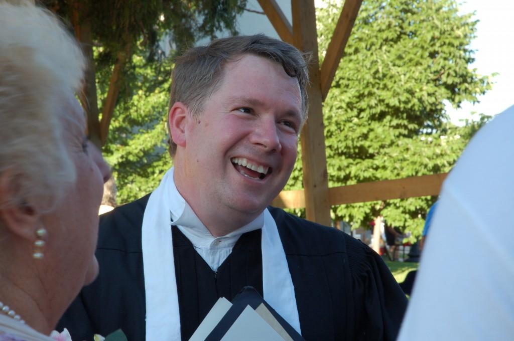 2009 Festival - Wedding in the Brush Arbor with Hon. David P. Evans (7)