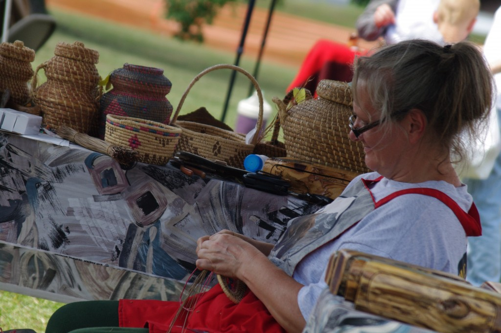 2010 Festival - Basket Making (2)