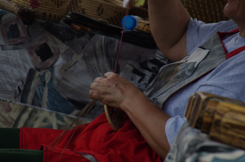 2010 Festival - Basket Making