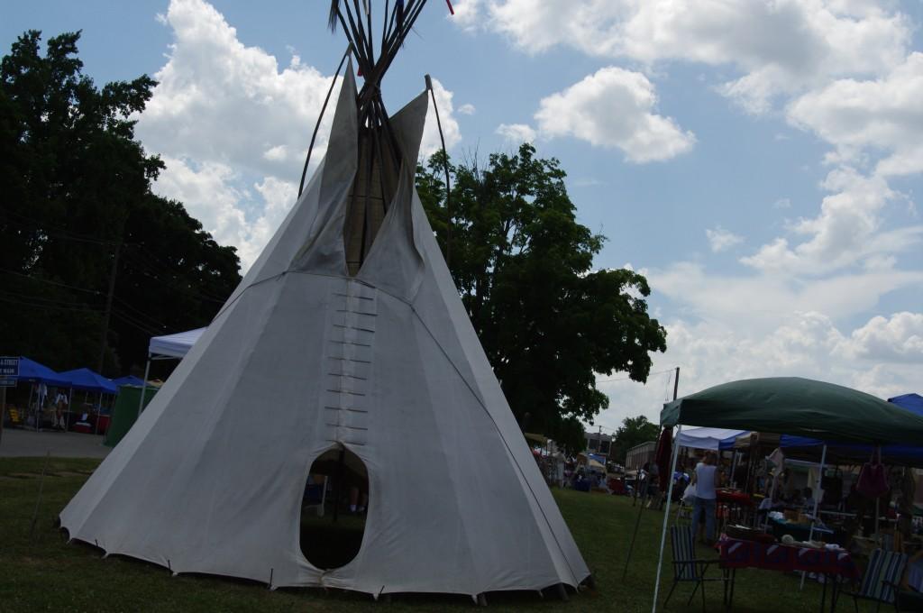 2010 Festival - Teepee