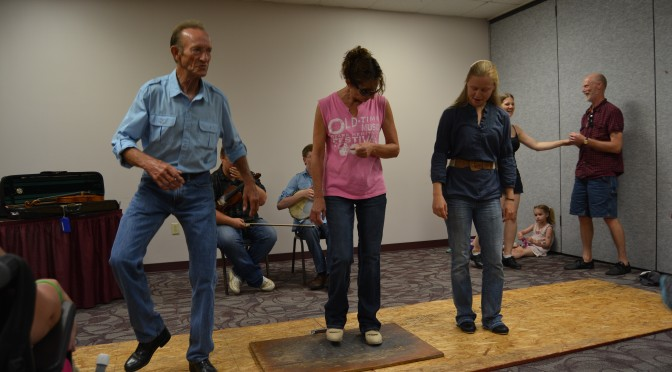 2014 Festival Buck Dance Workshop 2