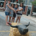 2014 Festival Calf Roping