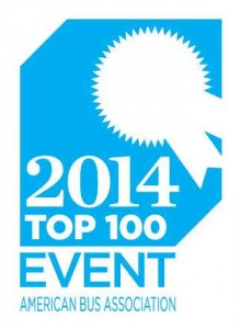 Selected by the American Bus Association as a top 100 Event for North America!