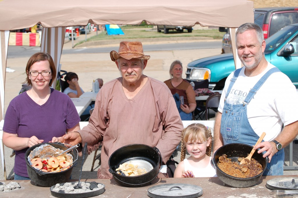 2012 Festival - Dutch Oven Cook-Off 6-15-12