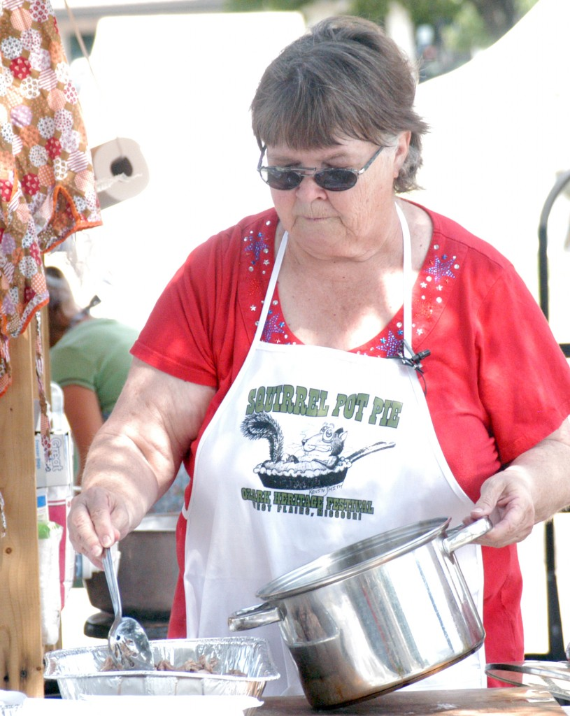 Cooking Stage Judy Harden