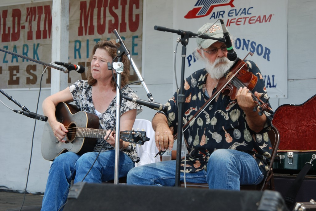 2012 Festival - Kim and Jim Lansford