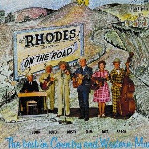 Rhodes on the road_album cover 1963 LP102