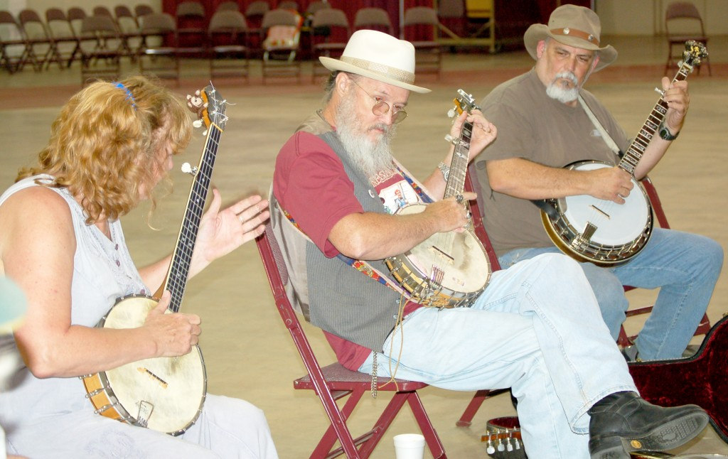 Van Colbert/banjo workshop
